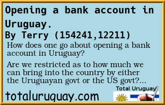 can i open a us bank account from overseas forum post opening a bank account in uruguay total uruguay
