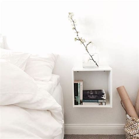 cool bedside l ideas for nightstand vizmini cool floating nightstand ideas for your bedroom design swan
