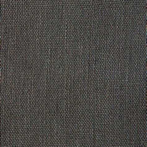 charcoal grey belgian linen fabric medium weight by