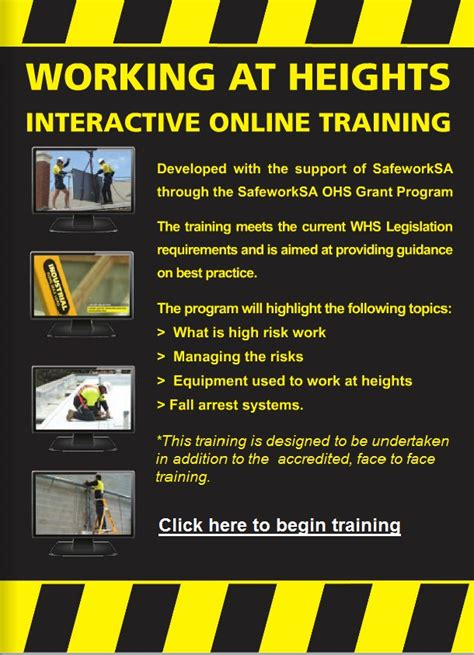 Online Work From Home Australia - working at heights online training gt courses gt mpa
