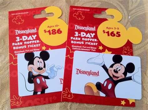 Disneyland Gift Cards - disney on a budget work that albertsons gift card promo
