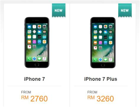 u mobile offers the iphone 7 on postpaid and prepaid iplans soyacincau