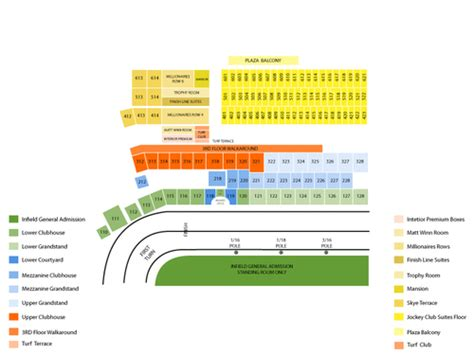 Churchill Downs Calendar Churchill Downs Seating Chart Events In Louisville Ky