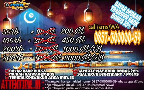 Jual Coin 8 Pool Kaskus tours in indonesia