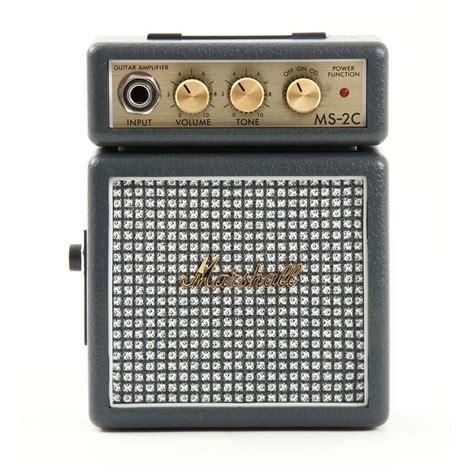 Marshall Ms 2 Portable Micro Lifier marshall ms2c classic portable micro lifier speaker for electric guitar ebay