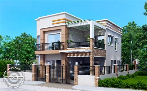 design house free no carlo 4 bedroom 2 story house floor plan pinoy eplans
