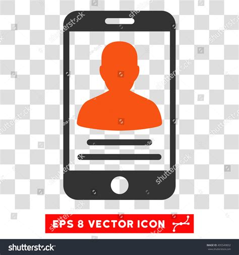 orange mobile account vector mobile account eps vector icon stock vector