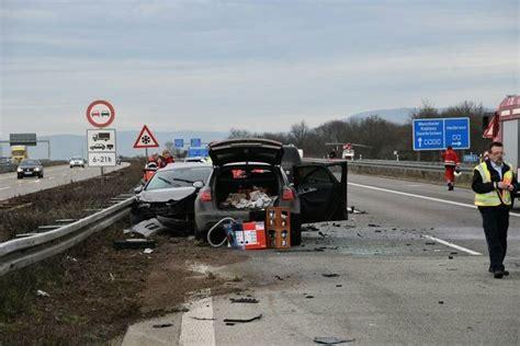 Motorradunfall A3 Gestern by A 5 Bei Walldorf Zwei Tote Bei Schwerem Unfall