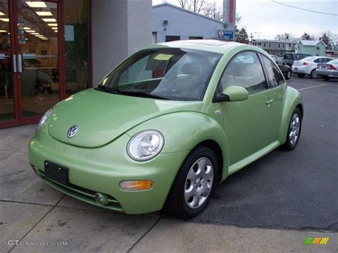 green volkswagen beetle 2002 cyber green metallic volkswagen beetle gls coupe