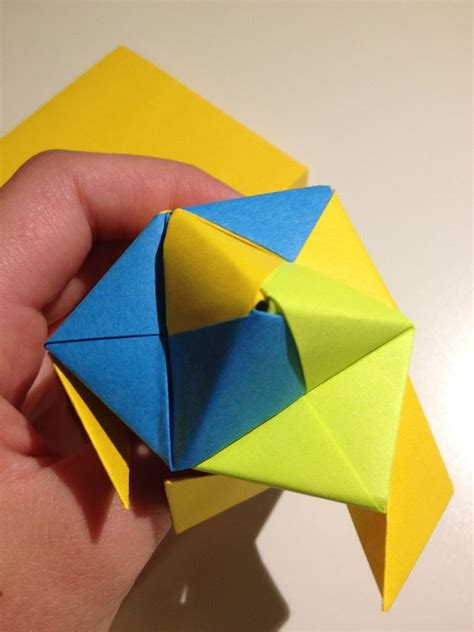 Origami Post Its - origami with post its images craft decoration ideas