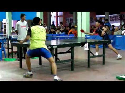 Meja Pingpong Medan table tennis aka tenis meja medan husni hidayat vs af al