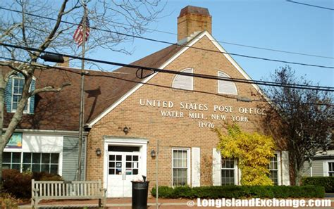 Mill Post Office water mill island exchange