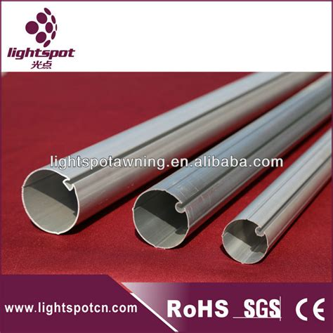 awning tubing aluminum tube for roller blind and awning buy aluminum