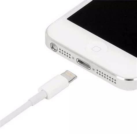 Usb Iphone 5 Ori cabo dados usb apple original iphone 5 5c 5s 6 4 min r 35 98 em mercado livre