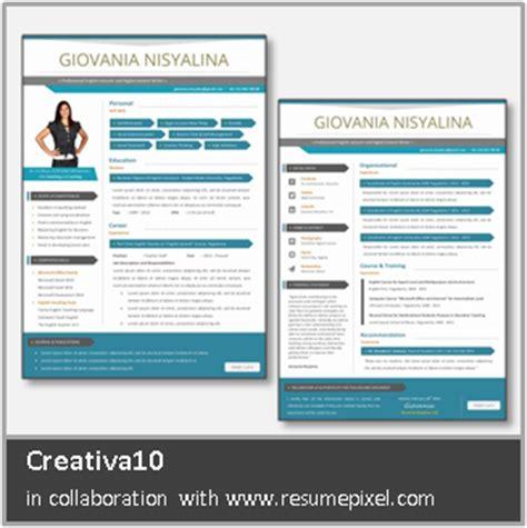 desain cv menarik free download desain cv kreatif contoh cv lamaran kerja