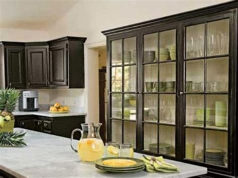 Black Kitchen Cabinet Doors Black Kitchen Cabinets With Glass Smith Design