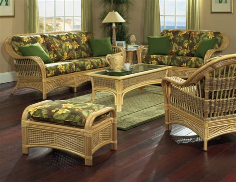 Tropical Living Room Furniture Rattan Furniture Tropical Style Tropical Living Room New York By Wicker Paradise