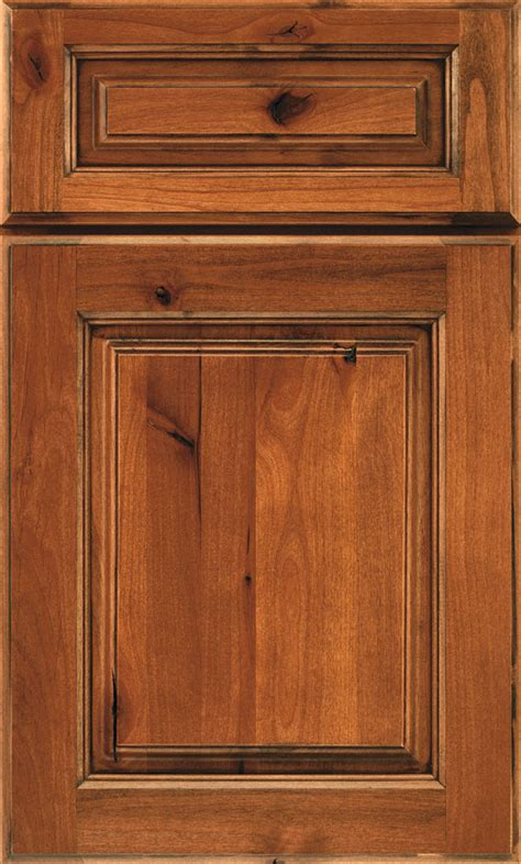 Rustic Kitchen Cabinet Doors Rustic Alder Kitchen Cabinets Schrock Cabinetry