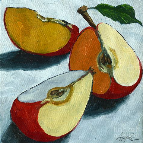 painting for mac sliced apple still painting painting by apple