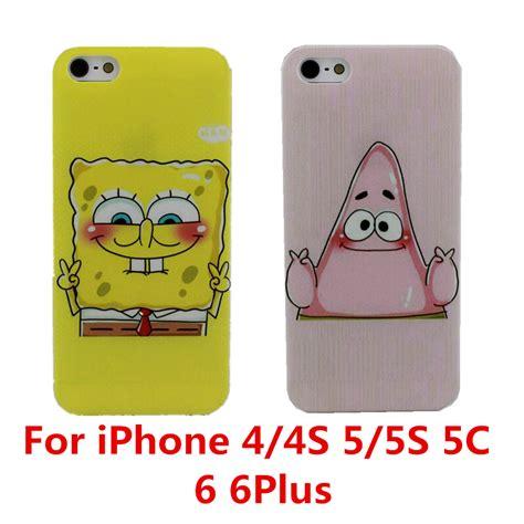 Spongebob Iphone 5 5s 5c 6 6s Plus Samsung Xiaomi Sony Mi5 best friend spongebob protective phone cover for apple iphone 4 4s 5 5s 5c 6 6s 6