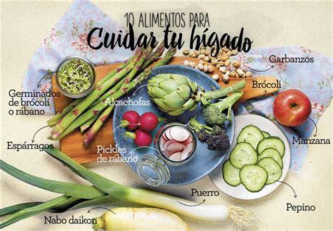 alimentos que ayudan a limpiar el higado 10 alimentos para cuidar el h 237 gado