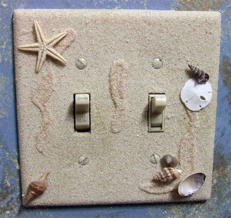 beach light switch covers 20 creative ways to decorate your light switches