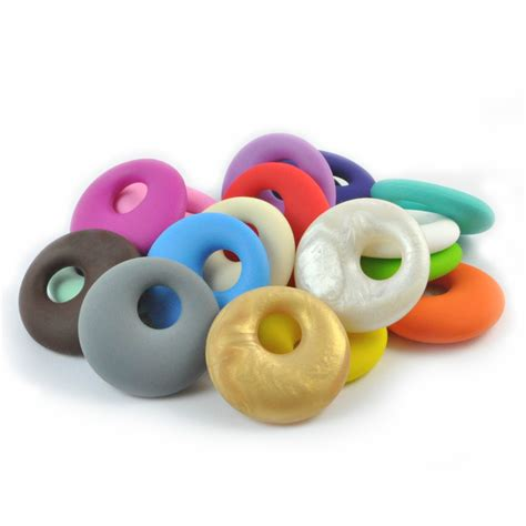 bead of silicone pendant ring silicone bead