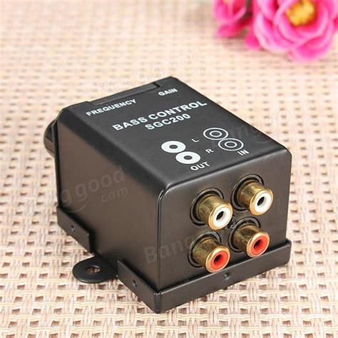 Rca Volume Knob by Car Home Lifier Bass Controller Rca Gain Level Volume