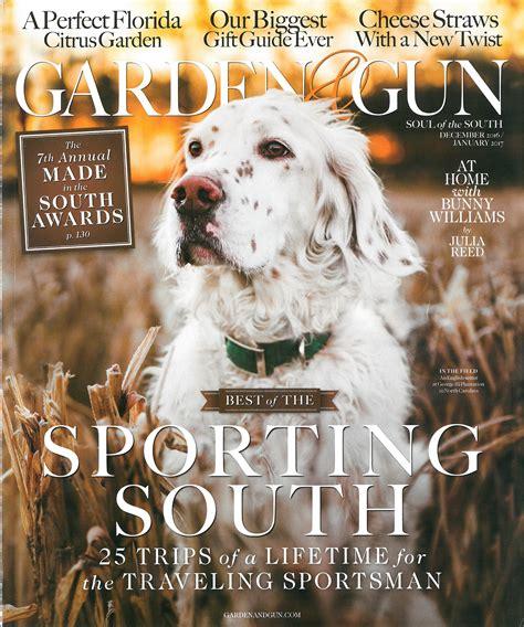 Garden And Gun by Garden Gun Made In The South Alabama Chanin Journal