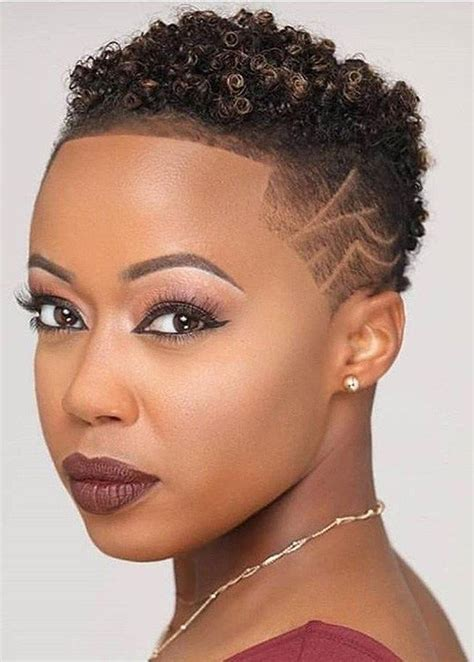 top short hairstyles  black women    short hair style  fashion shaved hair