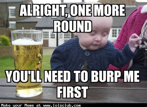 Drunk Meme - got your nose drunk baby meme