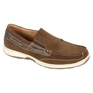 Sears Small Dishwashers Men S Brown Outboard Casual Shoe Traditionally Modern At