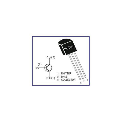 transistor bc547 que es 20 x transistor bc547b to 92 npn ebay