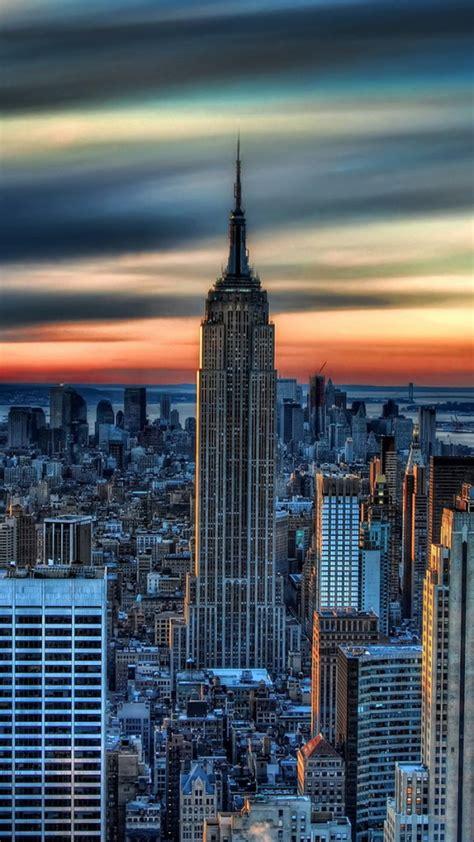 york city daybreak wallpaper  iphone wallpapers