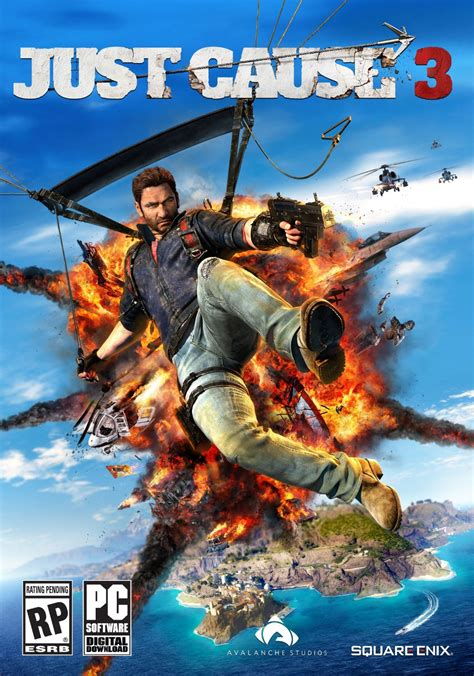 Coz I U Second 1 3 just cause 3 sky fortress sur actugaming net