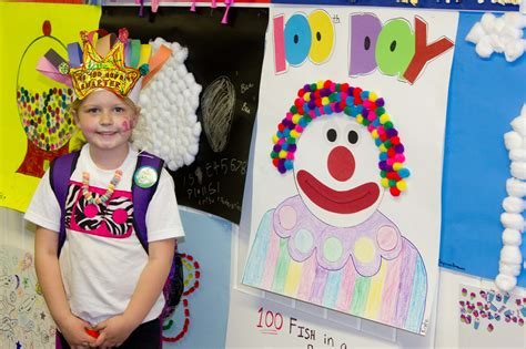 100th day of school craft projects 100th day of school me ideas