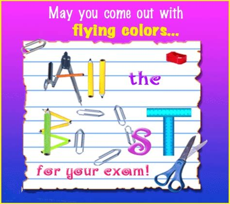 flying colors good luck exam wishes pinterest good luck  colors