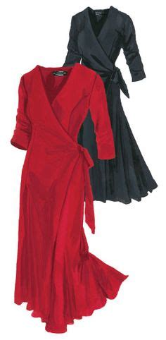 Lower V Shape Knit Dress made for mistletoe j peterman company s vintage inspired