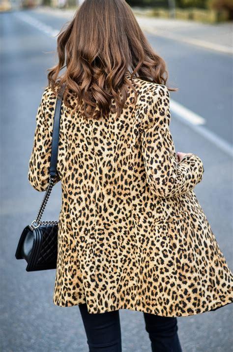 Leopard Blazer Black leopard print blazer all black