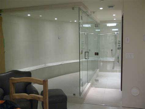 Large Shower by Shower Doors Repair Replace And Install In Vancouver