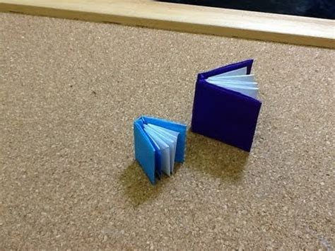 Make An Origami Book - daily origami 635 book