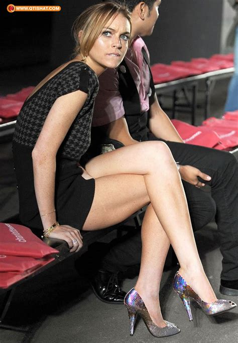 Lindsay Lohan Menuous by Lindsay Lohan Mostly Crossed Legs