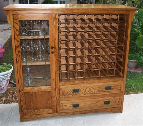 Yarn Storage Cabinets I Converted An Tv Cabinet Into A Wine Rack It Ll Hold 64 Bottles Furniture To Make