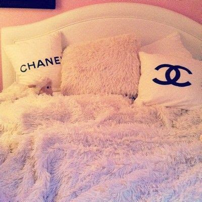 Chanel bedding decor beds dream house future dream room bedrooms