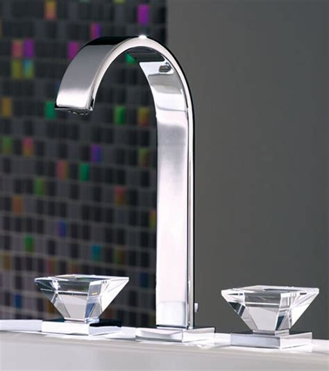 crystal bathroom faucets luxury faucets with crystal glass handles from joerger