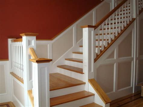 modern stair wainscoting lowes your dream home