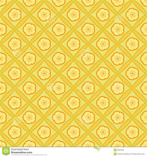 yellow floral pattern yellow flower pattern royalty free stock photos image