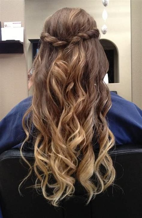 hairstyles curly hairstyle tips best 25 half braid ideas on pinterest hair half up