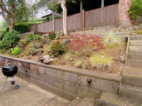 steep backyard solutions steep terrain beautiful makeover hgtv