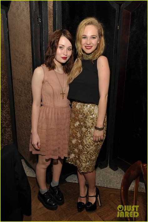 Rumer Willis Offers Fashion Advice God Help Us All by Juno Temple Emily Browning Photo